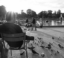 Parisian park by churros