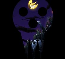 SOUL EATER Lord Death - Night Scene by kaicantdesign