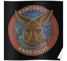 Kangaroo Knife Fight Poster