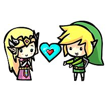 Link and Zelda by eucliffe