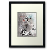the nest: an etherial gateway Framed Print