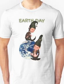 Earth Day T With Elfs T-Shirt