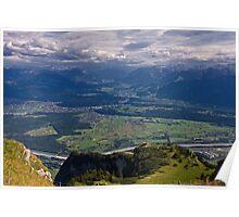 Hoher Kasten Switzerland Poster