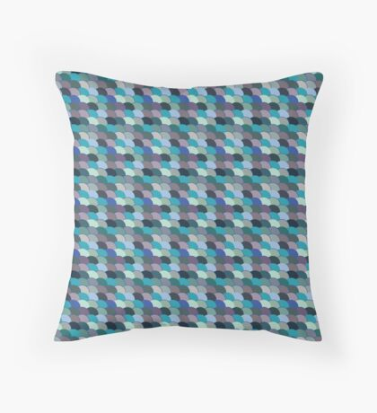 Fish scale Throw Pillow
