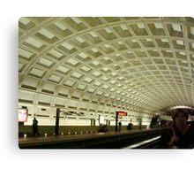 The Underground Metro System  ^ Canvas Print