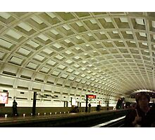 The Underground Metro System  ^ Photographic Print