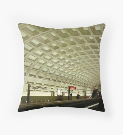 The Underground Metro System  ^ Throw Pillow