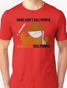Killer Squirrel Unisex T-Shirt