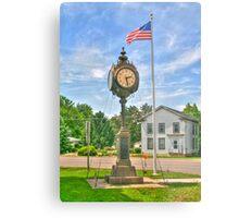 Memorial Clock Metal Print