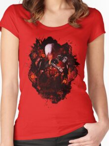 Devil May Cry 1 - Devil Hunter Women's Fitted Scoop T-Shirt