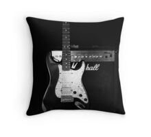 strat Throw Pillow