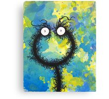 The creatures from the drain painting 30 Canvas Print