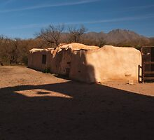 Adobe Convent by Richard G Witham