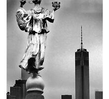 City Mystic • New York The Fool Card by CityMystic