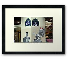 Parisian Mosaic - Piece 6 Framed Print