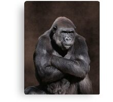 """Which part of """"NO"""" do you not understand? Canvas Print"""