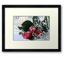 Pink Romance Framed Print