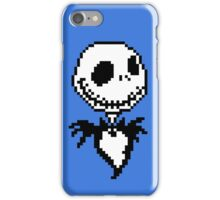 Jack Skellington - pixel art iPhone Case/Skin