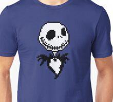 Jack Skellington - pixel art Unisex T-Shirt