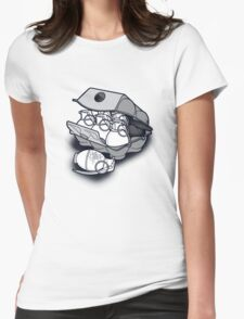 Bad Eggs Womens Fitted T-Shirt