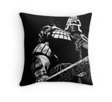 He is the law  Throw Pillow