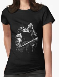 He is the law  Womens Fitted T-Shirt
