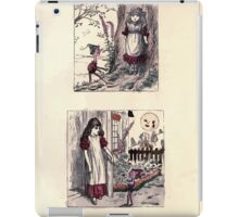 The Little Folks Painting book by George Weatherly and Kate Greenaway 0067 iPad Case/Skin