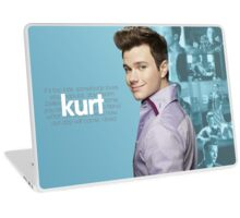 Kurt Hummel/Chris Colfer Edit Laptop Skin