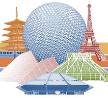 EPCOT Center Inspired Design  by epcod