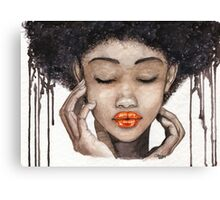 Ink Canvas Print