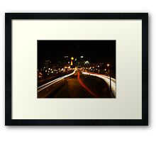 Coming Into Minneapolis Framed Print