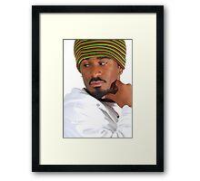 African Male Framed Print