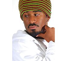 African Male Photographic Print