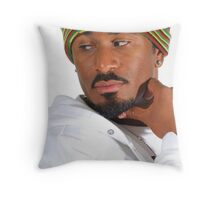 African Male Throw Pillow