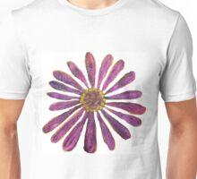 Purple Straw Zinnia II Unisex T-Shirt