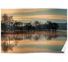 Loch Ard mystic morning... Poster