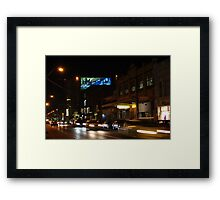 Glimpse and Go Framed Print