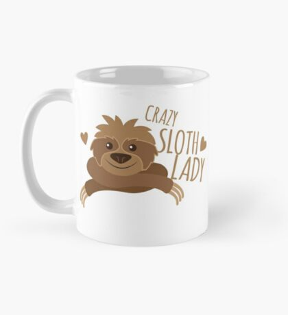 Crazy sloth lady Mug