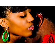 African American Couple Photographic Print