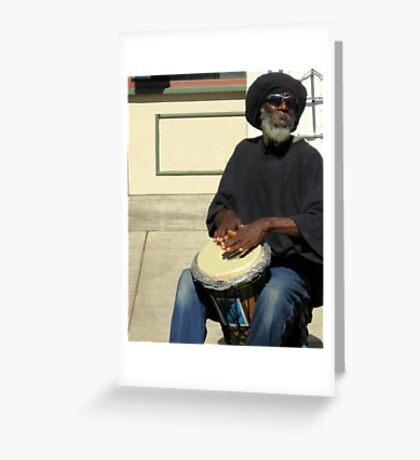 Reggae Man Greeting Card