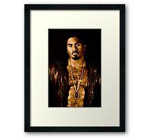 African American Male Framed Print