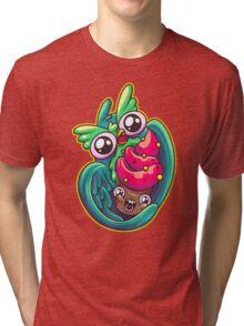 Who Loves Cupcakes Tri-blend T-Shirt