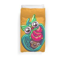 Who Loves Cupcakes Duvet Cover