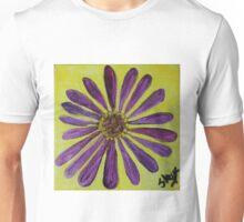 Purple Straw Zinnia I Unisex T-Shirt