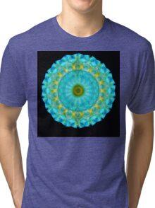 Sacred Voice - Mandala Art By Sharon Cummings Tri-blend T-Shirt
