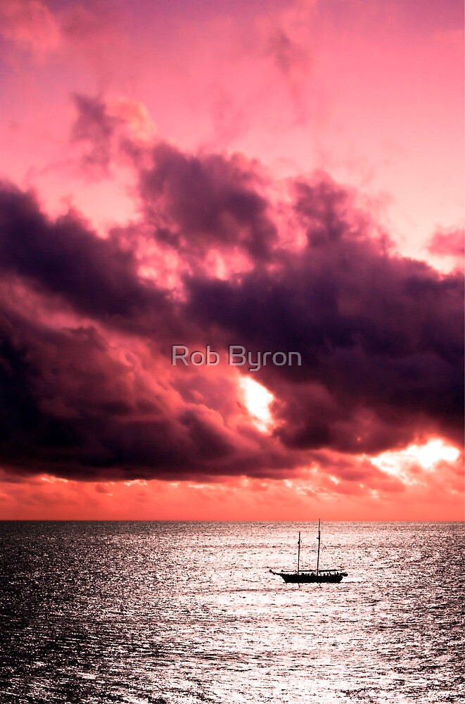 Red Sky at Night... by Rob Byron