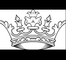 Crown in Black and White by gMuhtar
