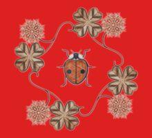 LadyBug Clovers - Vintage Kids Clothes