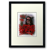 "Shattered Reality ""Oh Hi Mark"" Framed Print"