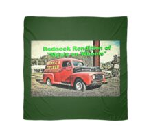 """Redneck Rendition of 'Meals on Wheels'""... prints and products Scarf"